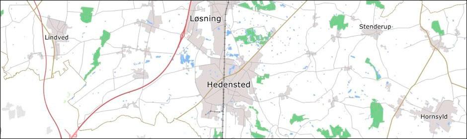 Digitale Kort Hedensted Kommune